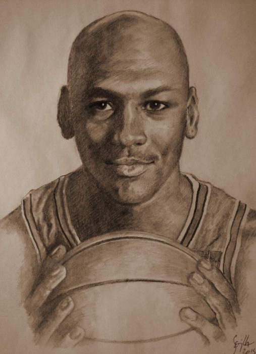 Michael Jordan by Tonio